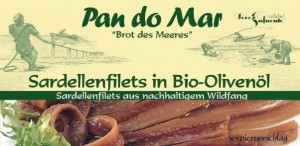 ANCHOIS (SARDELE) W BIO OLIWIE Z OLIWEK 50 g - PAN DO MAR