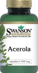 ACEROLA 500MG 60KAPS - SUPLEMENT DIETY - SWANSON